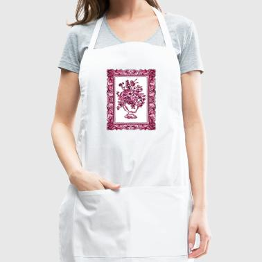 Flowers in Frame - Adjustable Apron