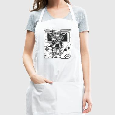 Gameboy Skull - Adjustable Apron