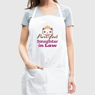 Purr-fect Daughter In Law - Adjustable Apron