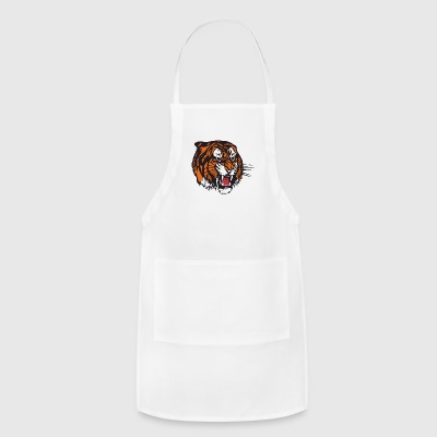 the beast tiger - Adjustable Apron