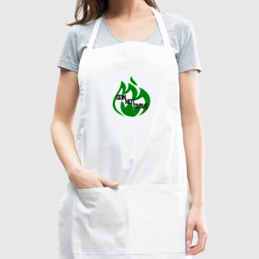 son not slave green - Adjustable Apron