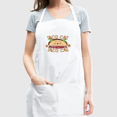 TACOCAT Kitty Cat Navy Graphic T-Shirt - Adjustable Apron