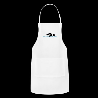 freestyle swimming - Adjustable Apron