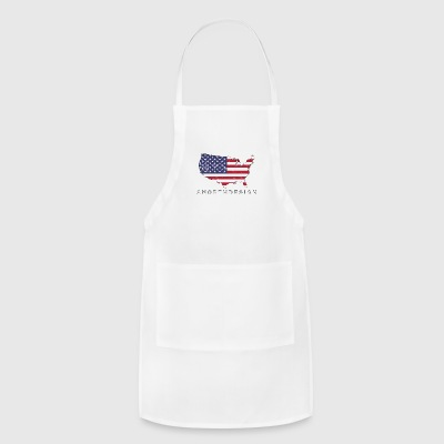 USA Map Design - Adjustable Apron