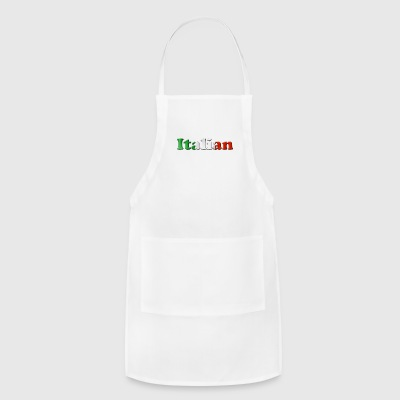 italian flag - Adjustable Apron