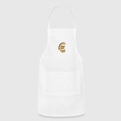 Currency, euro - Adjustable Apron
