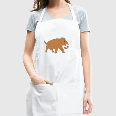 Animal Ancient Mammoth Trunk Fur 45726 - Adjustable Apron