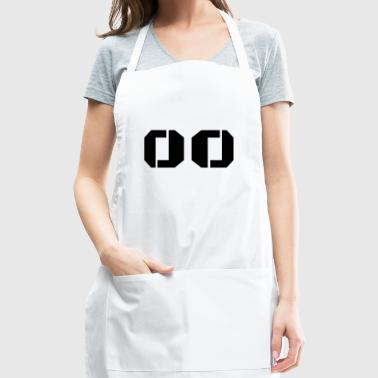 Jersey Number 00 - Adjustable Apron