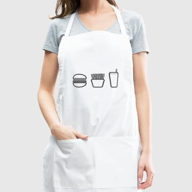 french fries pommes frites fastfood fast food1 - Adjustable Apron