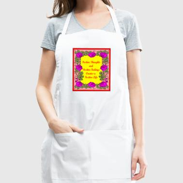 Positive Thoughts - Adjustable Apron