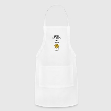 Extra LARGE Fries - Adjustable Apron