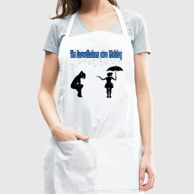 The Snowflakes are melting - Adjustable Apron