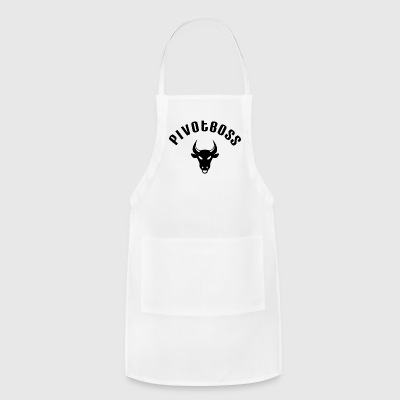 PivotBoss Curved Logo - Black - Adjustable Apron