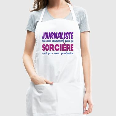 Witch Journalist - Adjustable Apron