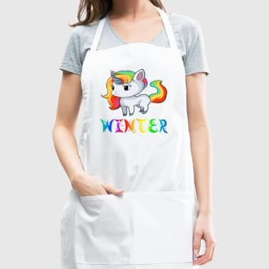 Winter Unicorn - Adjustable Apron