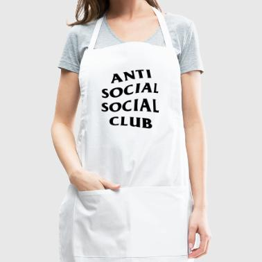 anti social social club - Adjustable Apron