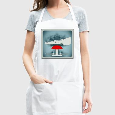 nuclear threat - Adjustable Apron