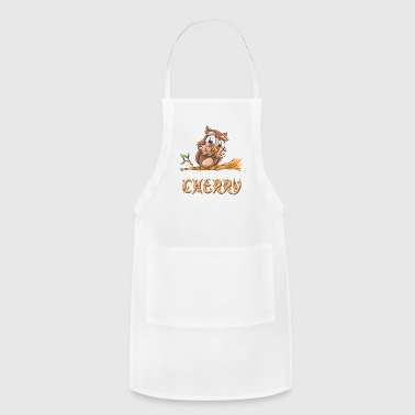 Cherry Owl - Adjustable Apron