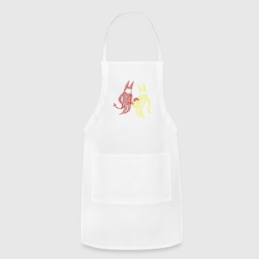 COOL GUY & MEAN GUY - Adjustable Apron