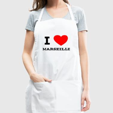 i love Marseille - Adjustable Apron