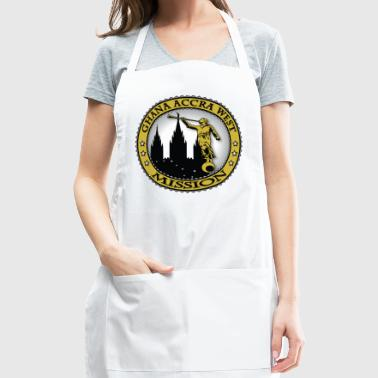 Ghana Accra West Mission - LDS Mission Classic - Adjustable Apron