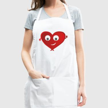 Valentines day - Adjustable Apron