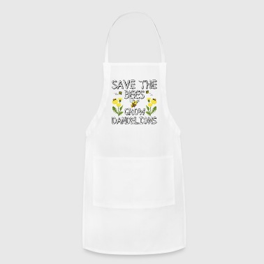 Save The Bees Grow Dandelions - Adjustable Apron
