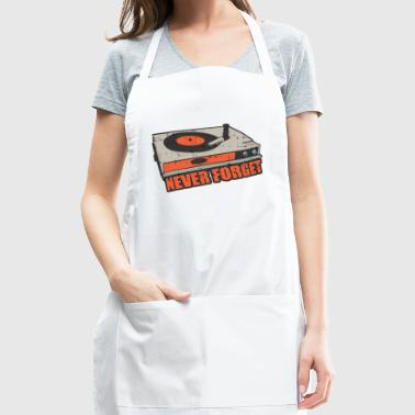 never forget - Adjustable Apron