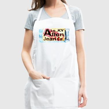 Allen Brand Jeans Logo Tag 2 Color - Adjustable Apron