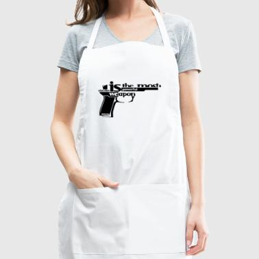 powerful quotes education t-shirt 2018 - Adjustable Apron