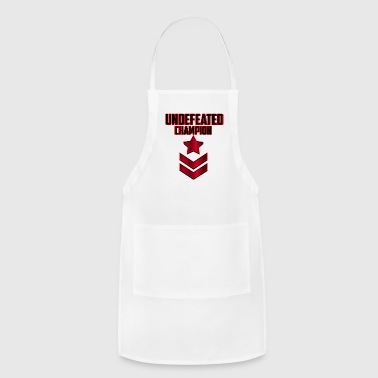 UNDEFEATED CHAMPION SPECIAL ARMED FPRCES - Adjustable Apron