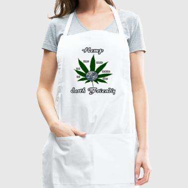 Earth Day - Hemp is Earth Friendly - Adjustable Apron