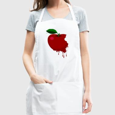 Melted red apple - Adjustable Apron