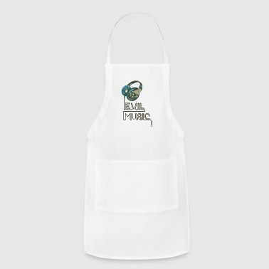 Evil Music (Metal & Trash Music Fans) - Adjustable Apron