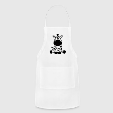 zebras - Adjustable Apron