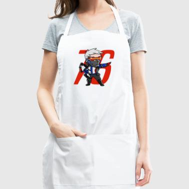 Cute Soldier 76 from Overwatch - Adjustable Apron