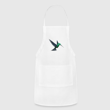 Green Humming Bird - Adjustable Apron