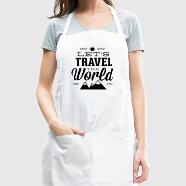let-s_travel_the_world - Adjustable Apron