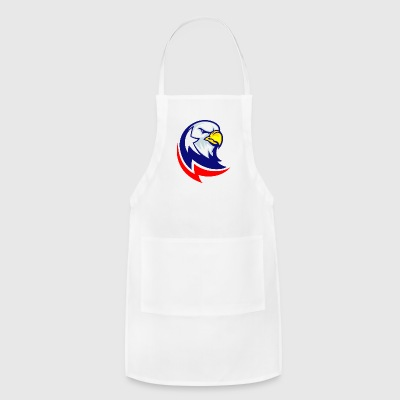blue_red_american_eagle - Adjustable Apron