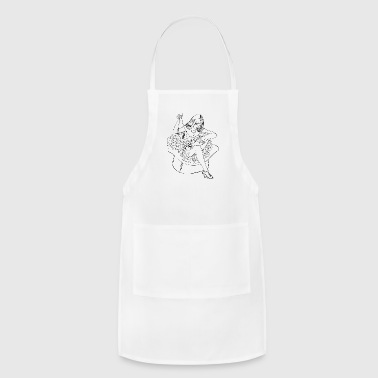 PINUP_GIRL_WITH_sew - Adjustable Apron