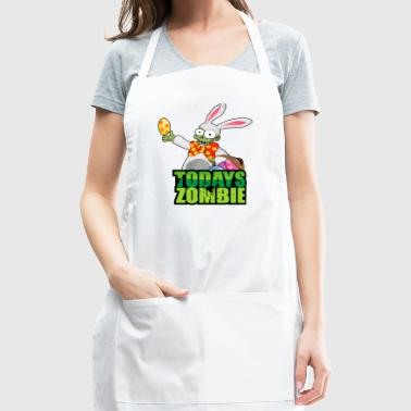 Easter Bunny Zombie - Adjustable Apron