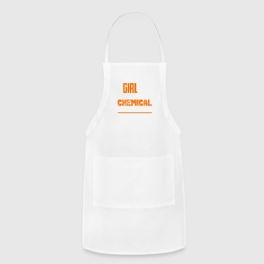 This Girl Is A Chemical Engineer Shirts - Adjustable Apron