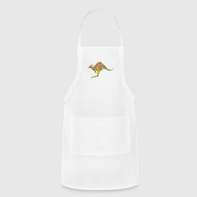 Kangaroo Flower Shirt - Adjustable Apron