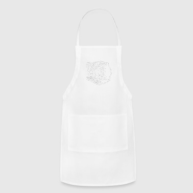 Snow Leopard Shirt - Adjustable Apron