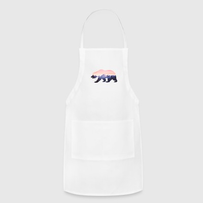 baer mountains national parc grizzly wild nature - Adjustable Apron