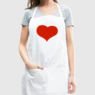 valentines day-holiday-heart - Adjustable Apron