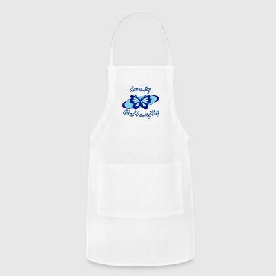 Lovely butterfly - Adjustable Apron