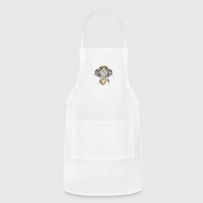 Anchor and Elephant - Adjustable Apron