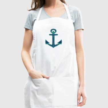 Ornate Anchor - Adjustable Apron