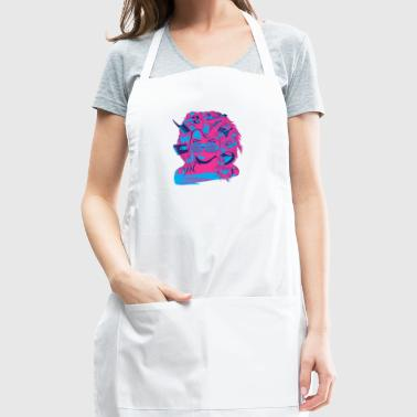 Radigirl, She's totally radical! - Adjustable Apron